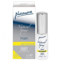 Feromonai Hot Man natural spray Intense 5 ml Feromonai ir kvepalai