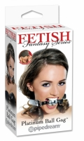 Fetish Fantasy Series Platinum Ball Gag Fetish a fantastic series
