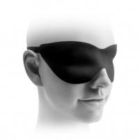 FF Elite Silikoninė fantazijų kaukė - Juoda