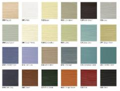 Paint for Fibre cement Cedral external cladding (C01-C06,C07-C11,C14, C15,C18, C19, C32, C50 colors)
