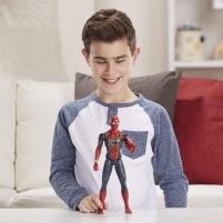 Figurėlė E3844 / E3308 Marvel Avengers:Endgame Titan Hero 12-Inch Action Figures Iron Spider