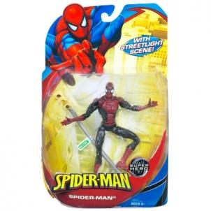 Figūrėlė Hasbro 69697 Spider-man with streetlight scene! Super hero Marvel Žaislai berniukams