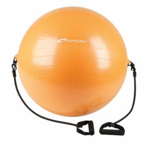 Fimnastiko kamuolys su rankenomis 65 cm Mankštos kamuoliai