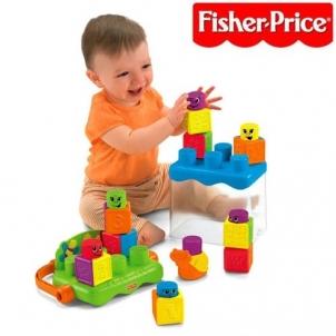 Fisher-Price kibirėlis su kubeliais P8793 Kaladėlės ir statybos žaislai