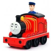 Fisher Price Паровозик Томас. Инерционный Паровозик James T2818 / T1468 Railway children