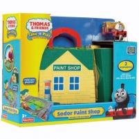 Fisher Price Thomas & Friends W9325 / R9111 rinkinys PAINT SHOP