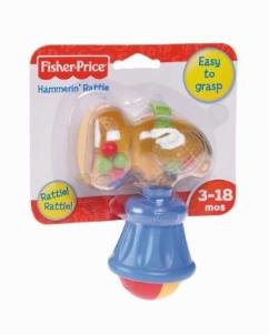 Fisher Price V6960 barškutis PLAKTUKAS nuo 3 mėn Rotaļlietas zīdaiņiem