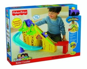 Fisher-Price X7835 / X7825 Automobilių lenktynių trasos vaikams