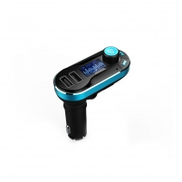 FM moduliatorius ART CAR TRANSMITER FM MP3 display 1.4 with BT, remote control USB/SD FM-05BT