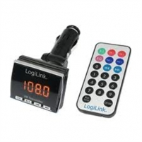 Logilink FM0001 Car Mp3 player FM transmitter Automagnetolos, FM moduliatoriai