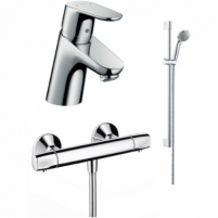 Focus E2 termostato komplektas Thermostatic water mixers