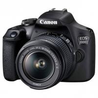 Fotoaparatas Canon EOS 2000D 18-55 III Skaitmeniniai veidrodiniai fotoaparatai