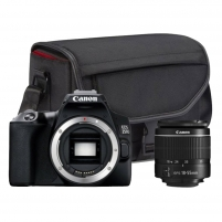 Fotoaparatas Canon EOS 250D 18-55 III+CB-SB130+16GB SD Digitālās slr fotokameras