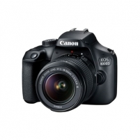"Fotoaparatas Canon EOS 4000D 18-55 III EU26 SLR Camera Kit, Megapixel 18 MP, Image stabilizer, ISO 12800, Display diagonal 2.7 "", Wi-Fi, Video recording, APS-C, Black"