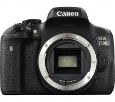 Fotoaparatas Canon EOS 750D (W) Body Skaitmeniniai veidrodiniai fotoaparatai