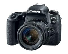Fotoaparatas Canon EOS 77D EF-S 18-55 IS STM kit Digitālās fotokameras