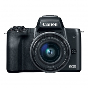 Fotoaparatas Canon EOS M50 M15-45 Black Skaitmeniniai fotoaparatai
