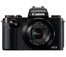 Fotoaparatas Canon Powershot G5X black Digitālās fotokameras