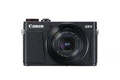 Fotoaparatas Canon Powershot G9 X Mark II black Skaitmeniniai fotoaparatai