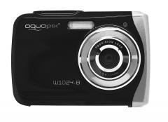 Fotoaparatas Easypix AquaPix W1024-B Splash black 10017 Skaitmeniniai fotoaparatai