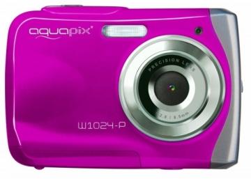 Fotoaparatas Easypix AquaPix W1024-P Splash pink 10013 Digitālās fotokameras
