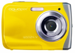 Fotoaparatas Easypix AquaPix W1024-Y Splash yellow 10014 Skaitmeniniai fotoaparatai