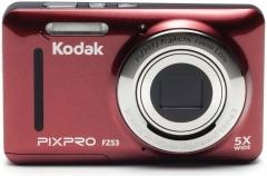 Fotoaparatas Kodak FZ53 Red Digitālās fotokameras