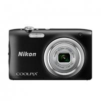 "Fotoaparatas Nikon Coolpix A100 Black/20.1Mpixels,NIKKOR 5x,2.7"" LCD,ISO 80-1600,Support SD/SDHC/SDXC,Li-ion batt."