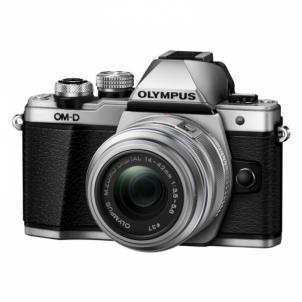 Fotoaparatas Olympus E-M10III 14-42IIR Kit Silver/Silver Skaitmeniniai fotoaparatai