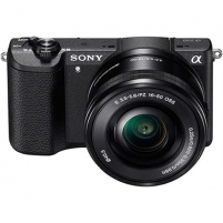 Fotoaparatas Sony A5100 Black with 16-50mm lens Digital slr cameras