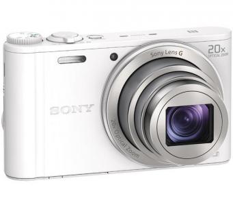 Fotoaparatas Sony DSC-WX350W white Skaitmeniniai fotoaparatai