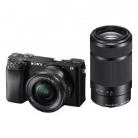 Fotoaparatas Sony ILCE-6100YB 16-50mm + 55-210mm