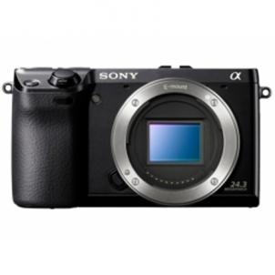 Fotoaparatas Sony ILCE-7 Black Body Skaitmeniniai veidrodiniai fotoaparatai