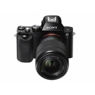 Fotoaparatas Sony ILCE-7K Black Kit with SEL-2870, F3.5-5.6 Skaitmeniniai veidrodiniai fotoaparatai