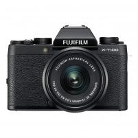 Fotoaparatas X-T100+XC15-45 Black Digitālās fotokameras