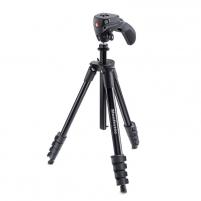 Fotoaparato stovas Compact Action Black Fotoaparatų stovai