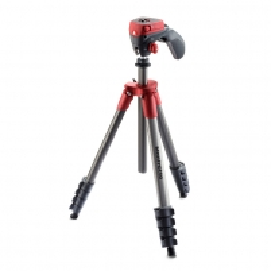 Fotoaparato stovas Compact Action Red Fotoaparatų stovai
