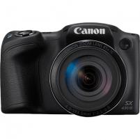 "Fotoapratas Canon PowerShot SX430 Compact camera, 20 MP, Optical zoom 45 x, Digital zoom 4 x, Image stabilizer, ISO 1600, Display diagonal 3.0 "", Wi-Fi, Focus TTL, Video recording, Lithium Li-ion, Black"