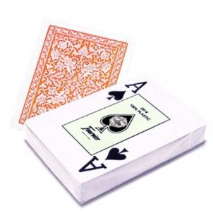 Fournier 2818 pokerio kortos (Oranžinės)