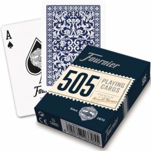 Fournier 505 pokerio kortos (Mėlyna)
