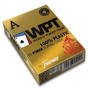 Fournier WPT Gold Edition pokerio kortos (Raudonos)