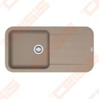 Fragranit universali pagal įstatymo puses plautuvė FRANKE Pebel PBG611-97 su ekscentriniu ventiliu ir indu, kašmyro spalvos