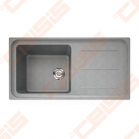 Fragranit universali plautuvė FRANKE Impact G IMG611-100 su ventiliu,akmens pilkos spalvos