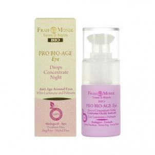 Frais Monde Pro Bio-Age Eye Drops Night Concentrate Cosmetic 15ml Paakių priežiūros priemonės