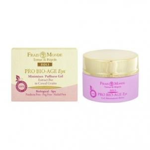 Frais Monde Pro Bio-Age Minimises Puffness Eye Gel Cosmetic 30ml Paakių priežiūros priemonės