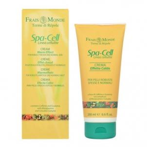 Frais Monde Spa-Cell Linea Cellulite Cream Warm Effect Cosmetic 200ml Stangrinamosios kūno priežiūros priemonės