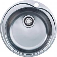 """Franke plautuvė ROX 610-41,nerūd.plienas (rekomenduojamas 3½"""" ventilis 1120006351) Nerudyjančio plieno virtuvės plautuvės"""