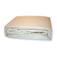 Frotinė paklodė su guma (balta), 200x220 cm Paklodės