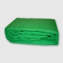 Frotinė paklodė su guma (žalia), 200x220 cm
