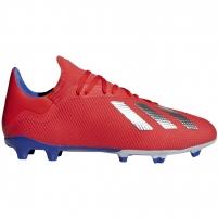 Futbolo bateliai adidas X 18.3 FG czerwone BB9367